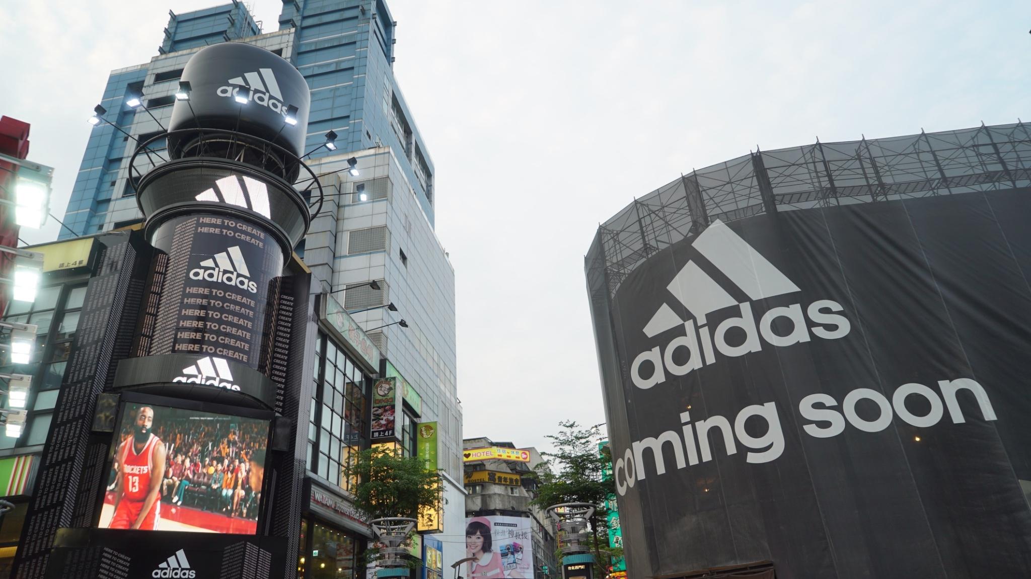 「adidas」廣告宣傳